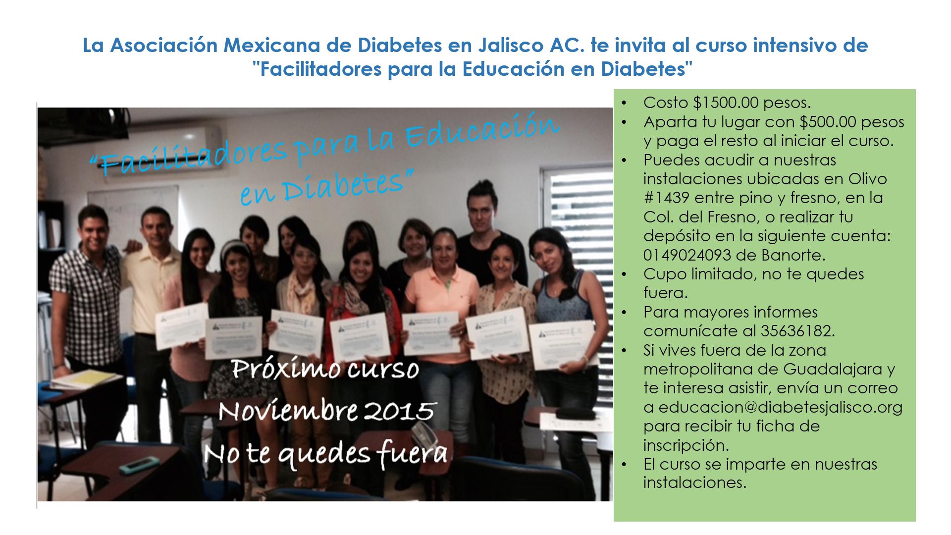 curso de la AMD Jalisco