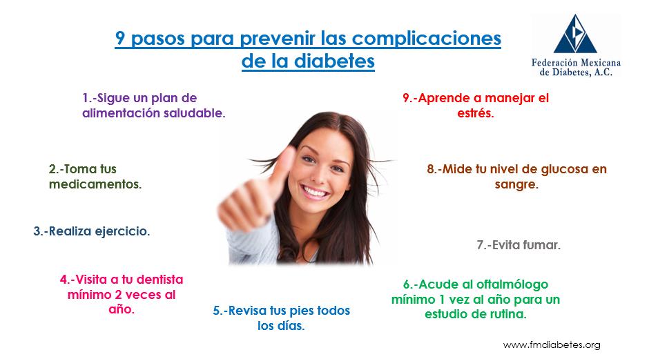 9 pasos prevenir complicaciones