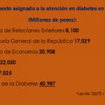 Atención en diabetes con muy alto presupuesto
