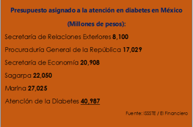 Atención en diabetes con muy alto presupuesto - Federación