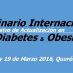 Seminario sobre diabetes y obesidad