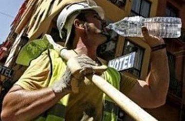 Hidratación en condiciones laborales extremas