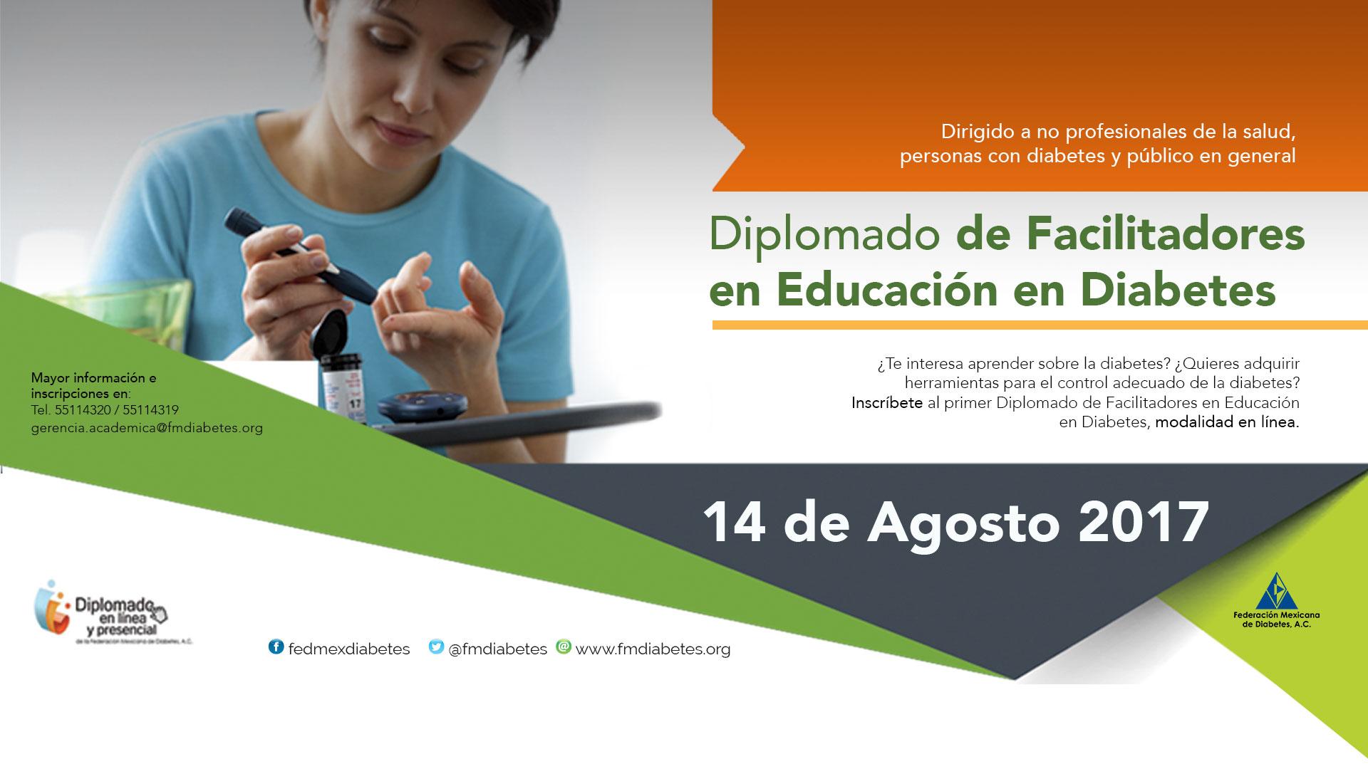 Federación Mexicana de Diabetes – DIPLOMADO DE