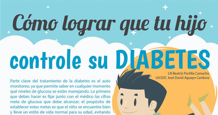 ¿Cómo lograr que tu hijo controle su diabetes? (OneTouch)
