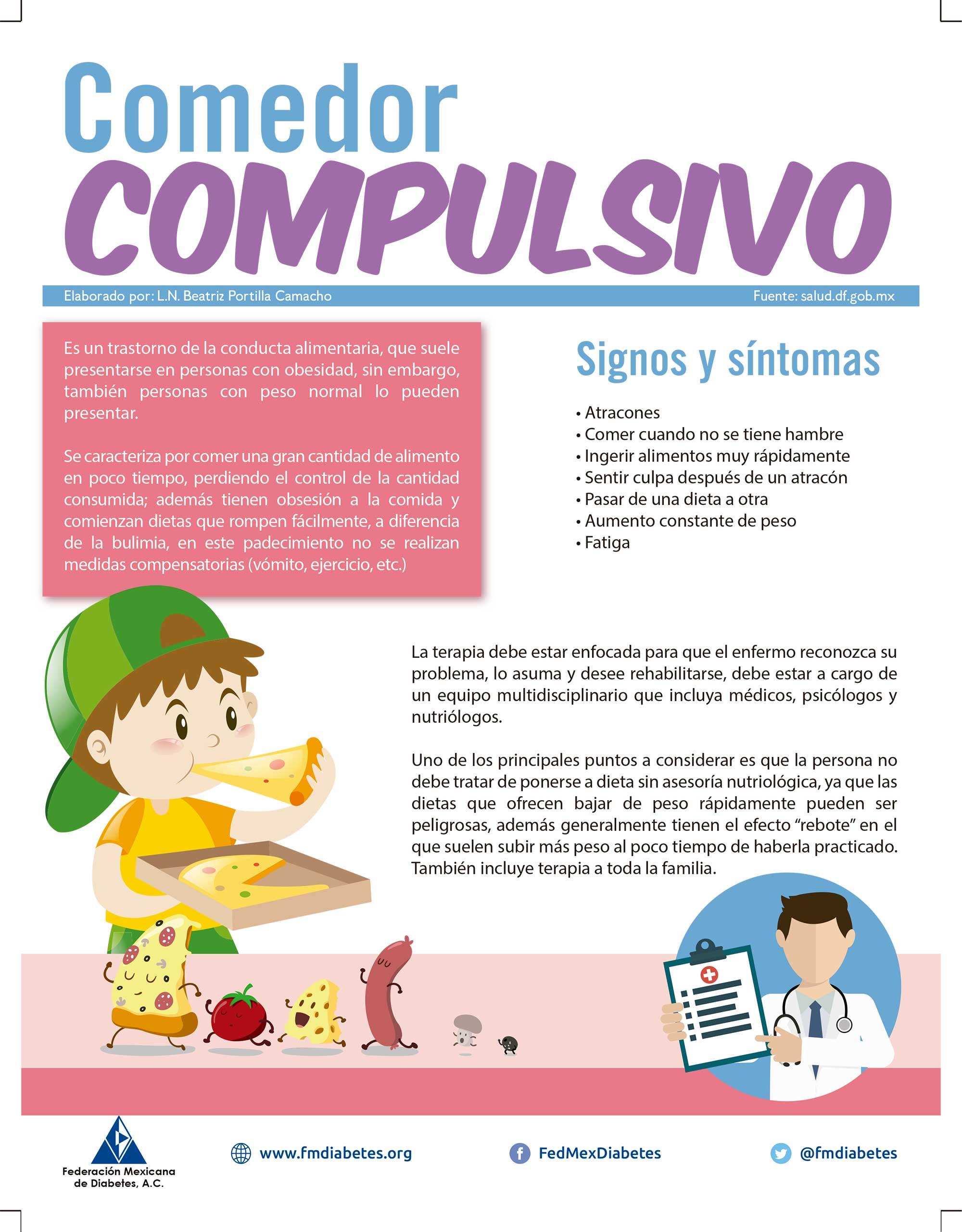comedor compulsivo federaci n mexicana de diabetes