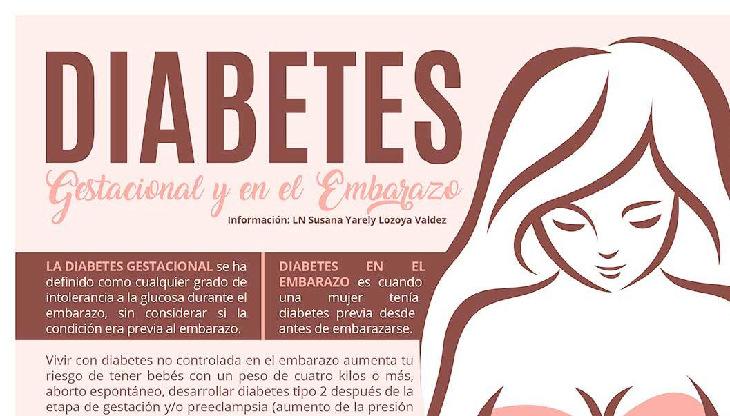 DIABETES gestacional y en el  embarazo