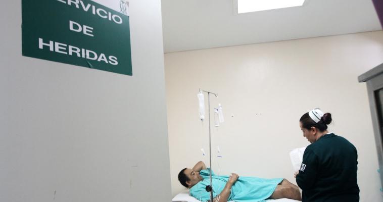 ATIENDE IMSS HERIDAS CRÓNICAS DE PERSONAS CON DIABETES CON NUEVA TECNOLOGÍA