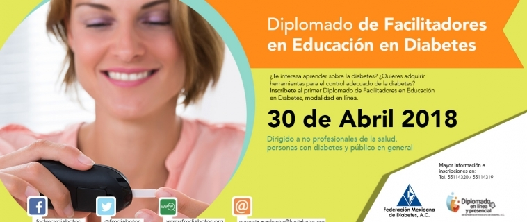 DIPLOMADO DE FACILITADORES DE EDUCACIÓN EN DIABETES  PARA NO PROFESIONALES DE LA SALUD