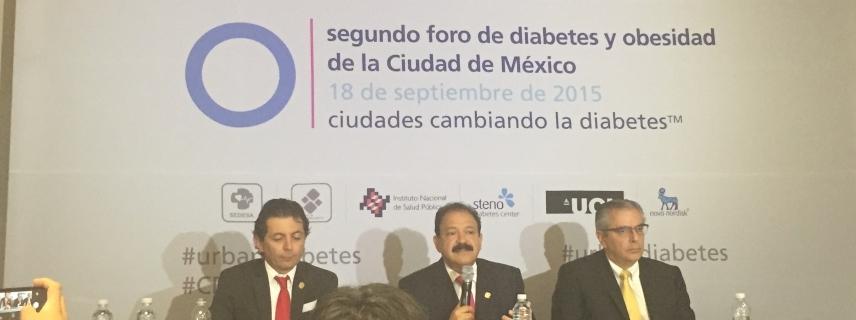 Estudio Ciudades Cambiando la Diabetes™ revela: 1 de cada 3 adultos en la Ciudad de México vive con diabetes o prediabetes