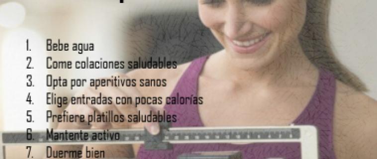 Cuida tu peso en 7 pasos