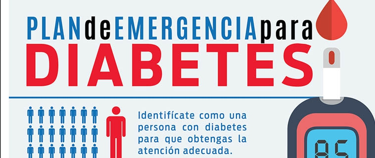 Plan de emergencia para Diabetes