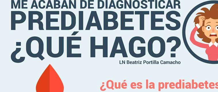 Me acaban de diagnosticar prediabetes ¿que hago?