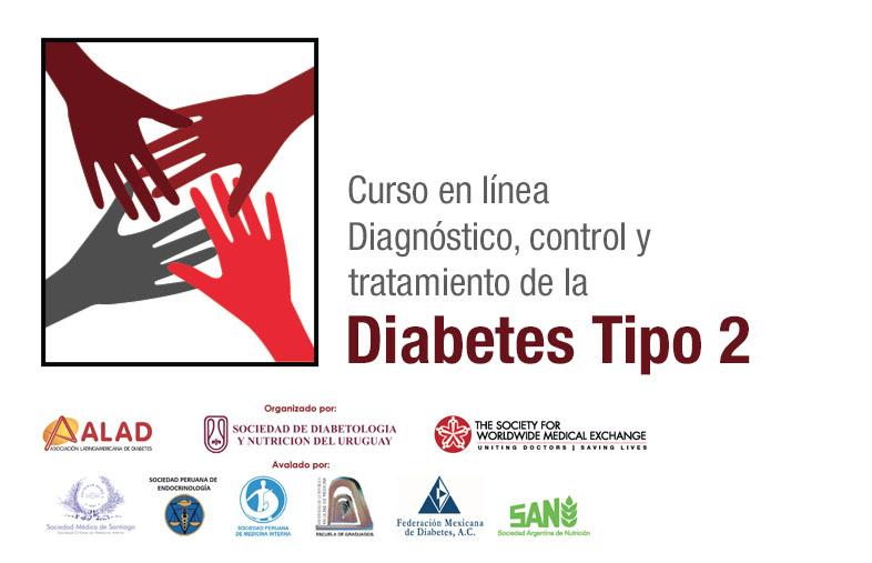 Curso online Diagnóstico, Control y Tratamiento de la Diabetes Mellitus tipo 2