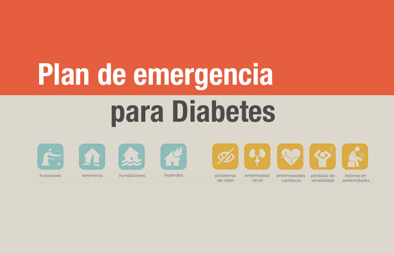 Plan de emergencias para Diabetes