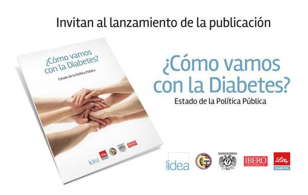 Presentan ¿Cómo vamos con la Diabetes?