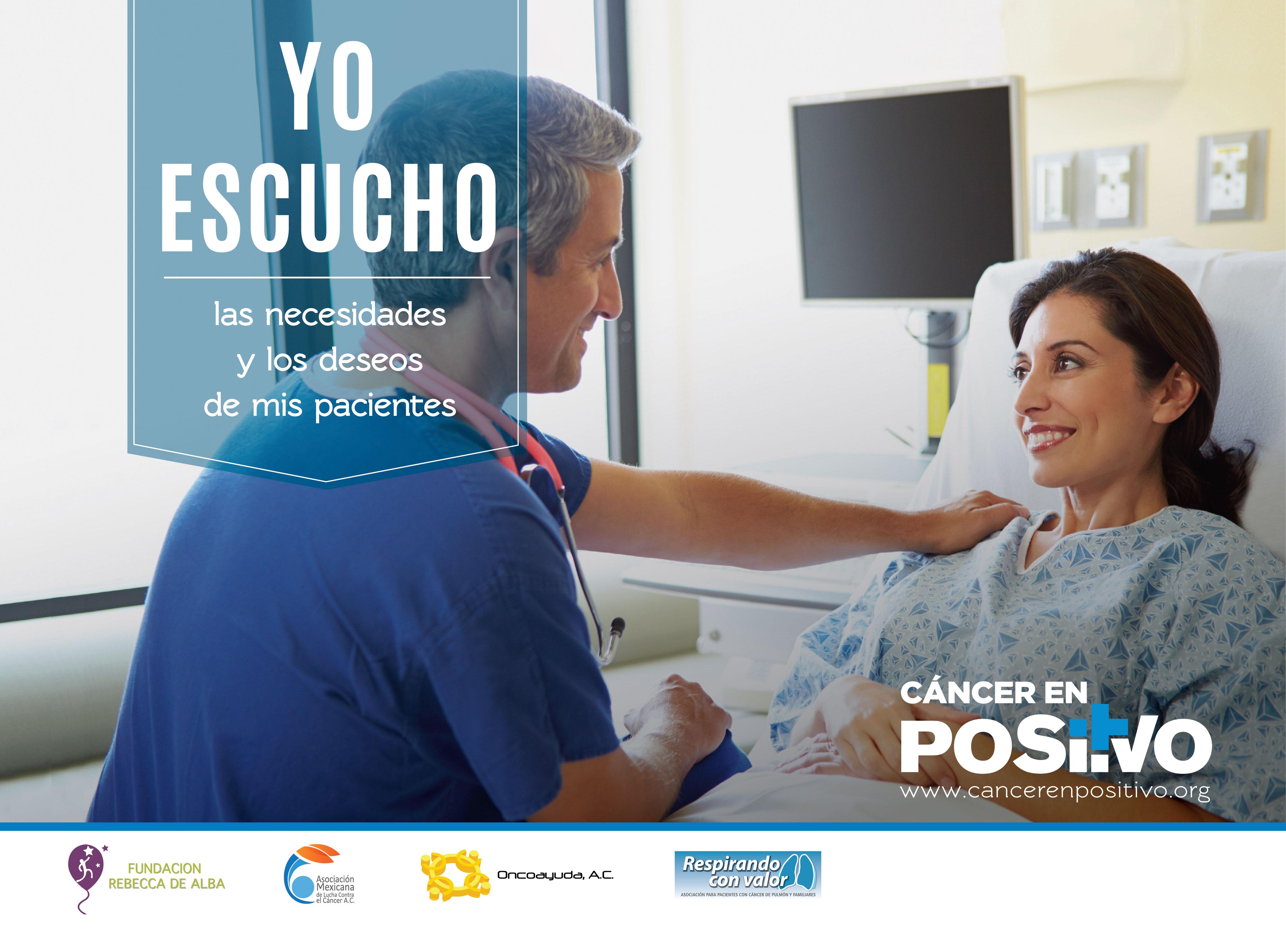 ONG lanzan campaña para cambiar percepción negativa del cáncer