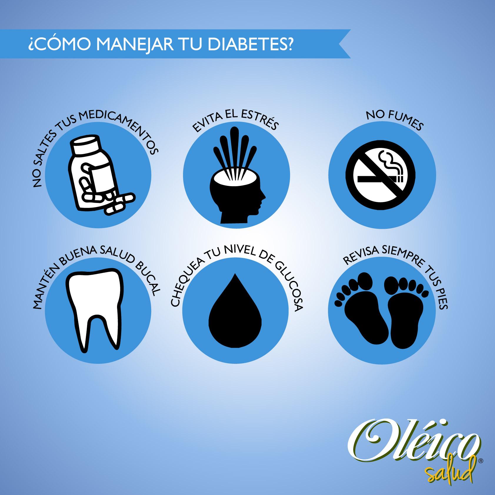 Cómo manejar tu diabetes