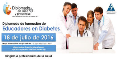 Diplomado de formación de Educadores en Diabetes
