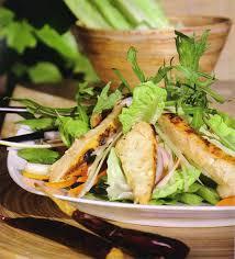 Pollo en ensalada