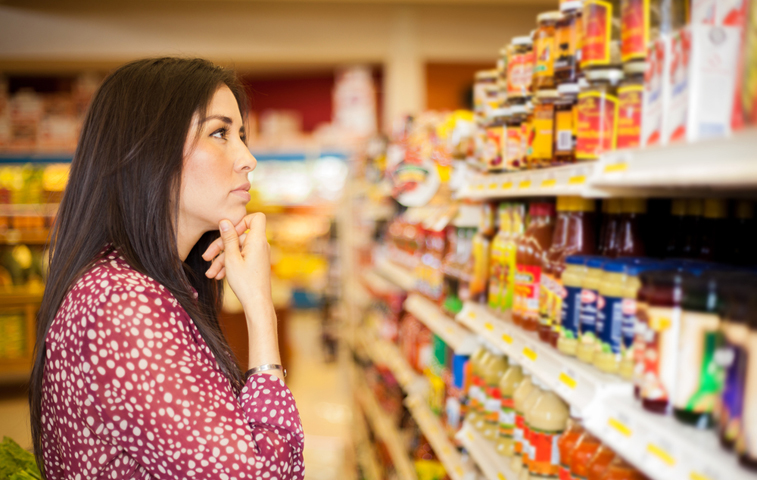 Significado de reducido, bajo, sin calorías en las etiquetas nutrimentales