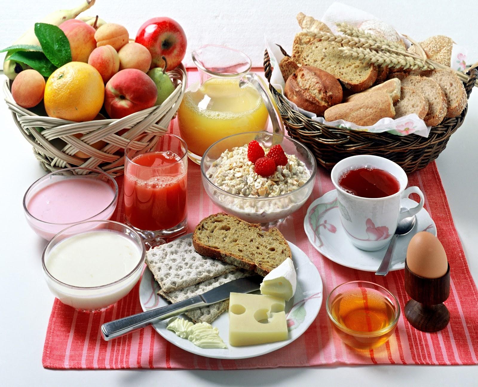 Un buen desayuno para cuidar tu salud