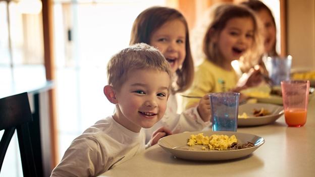 Los niños que desayunan todos los días tienen menor riesgo de diabetes tipo 2