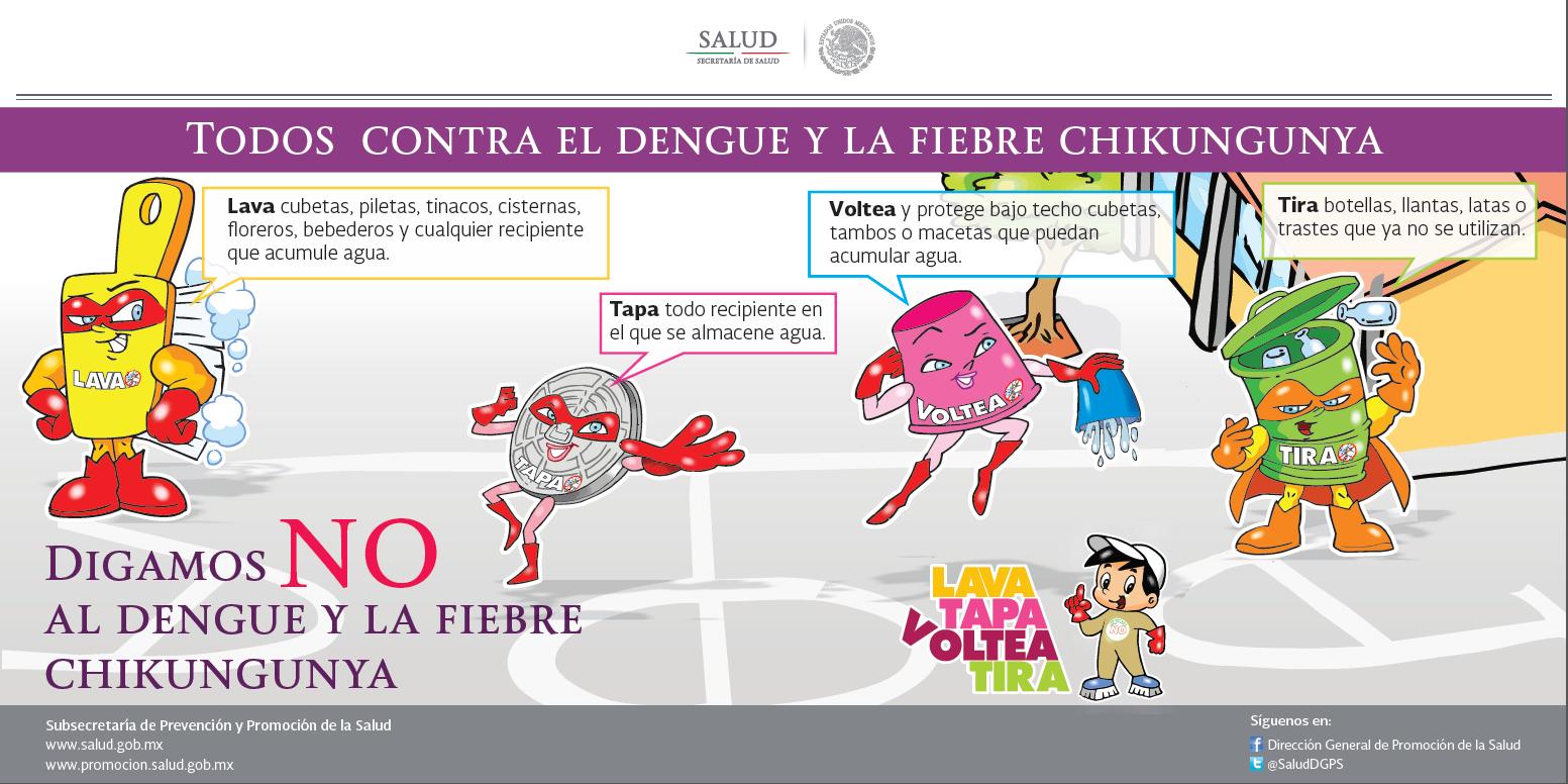 Refuerzan campaña contra el Chikungunya en Guerrero