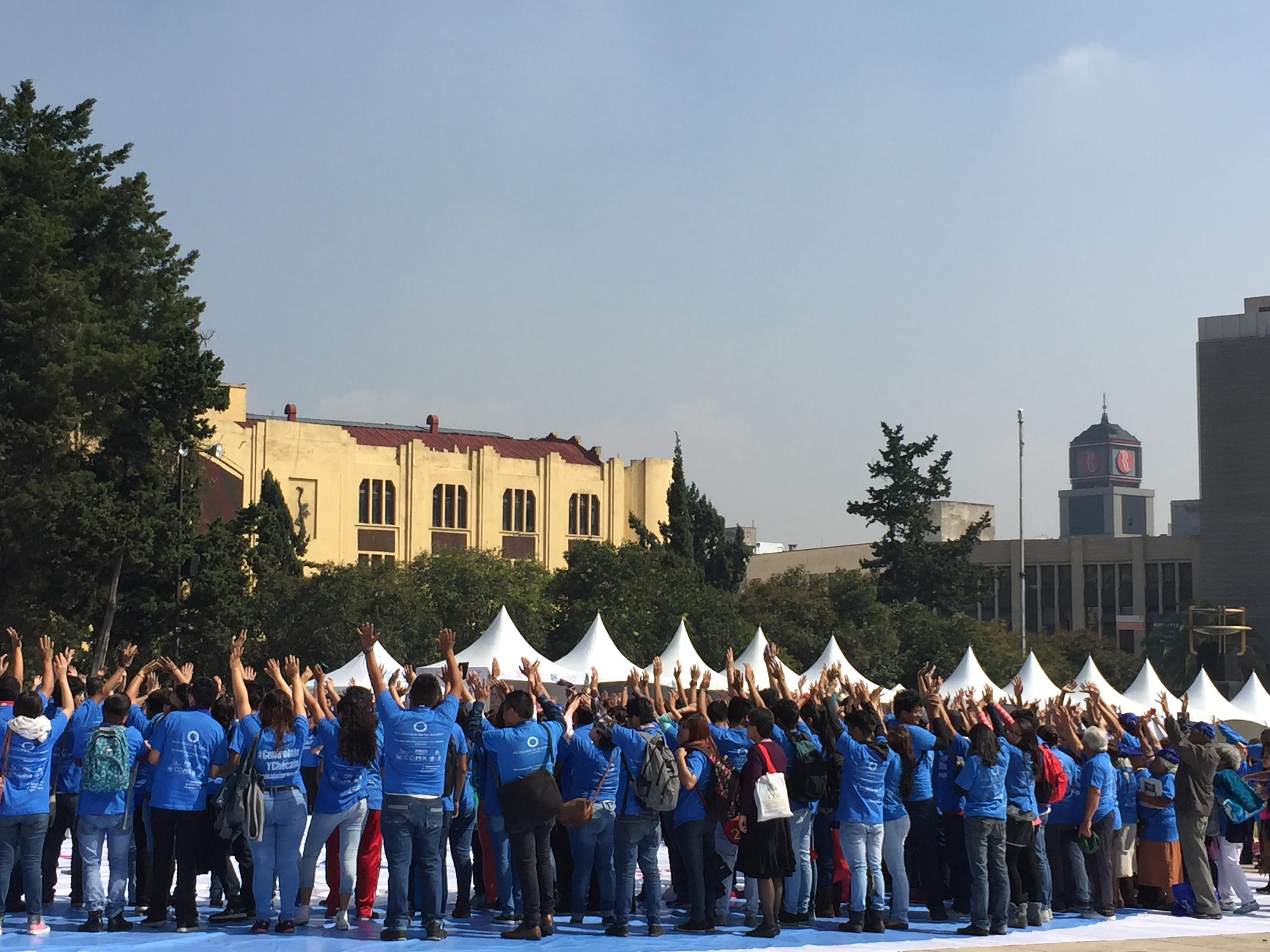 Evento en monumento a la revolución D.F. Día Mundial de la Diabetes 2015