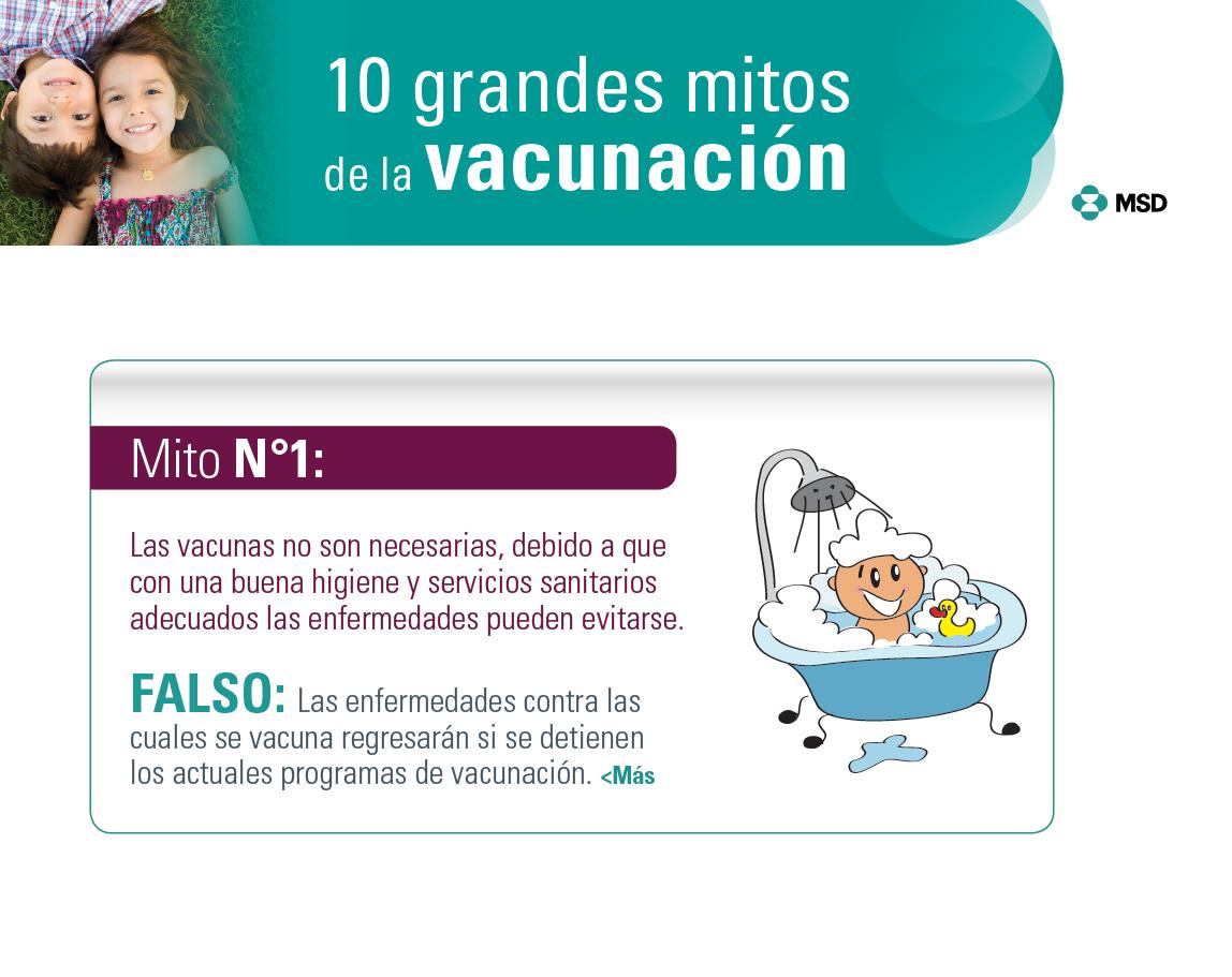10 grandes mitos de la vacunación