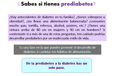 ¿Sabes si tienes prediabetes?