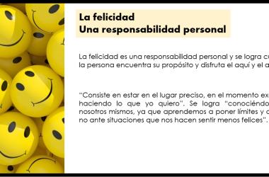 Felicidad una responsabilidad personal