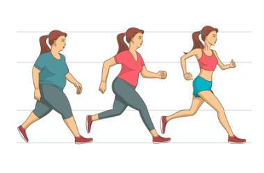 Moverse para controlar el peso