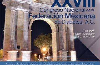 Concluyó el XXVIII Congreso Nacional de Diabetes en León, Guanajuato