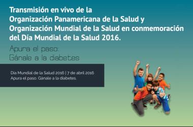 Día Mundial de la Salud 2016, transmisión en vivo, conmemoración