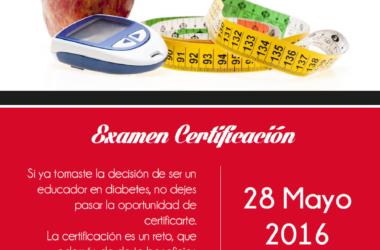 Educador en Diabetes Certificado por la CONED