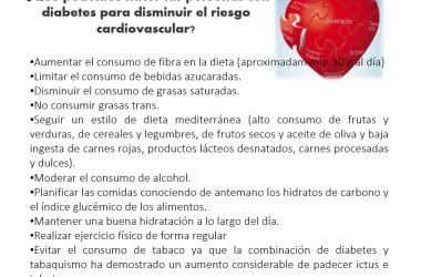 La diabetes como factor de riesgo cardiovascular