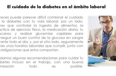 La diabetes en el trabajo