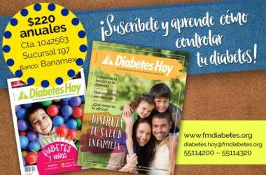 Suscríbete ya a la Revista Diabetes Hoy