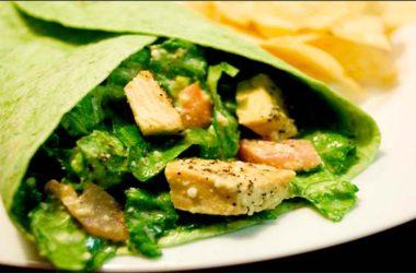 Tacos de pechuga de pavo