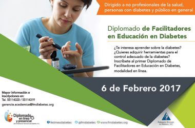 DIPLOMADO DE FACILITADORES EN EDUCACIÓN EN DIABETES