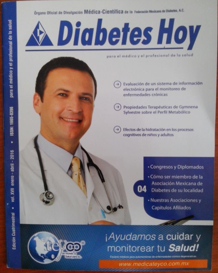Revista Diabetes Hoy Enero – Abril 2016