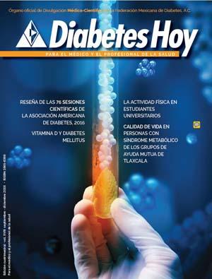 Revista Diabetes Hoy Septiembre – Diciembre 2016