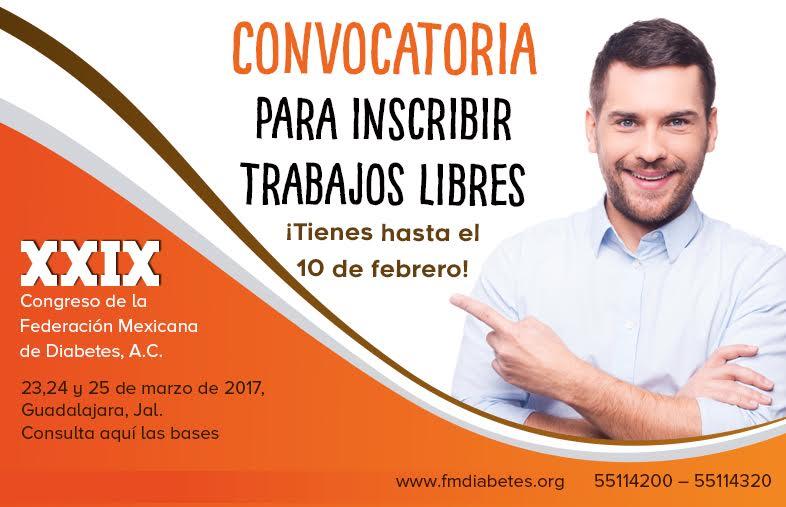CONVOCATORIA PARA INSCRIBIR TRABAJOS LIBRES