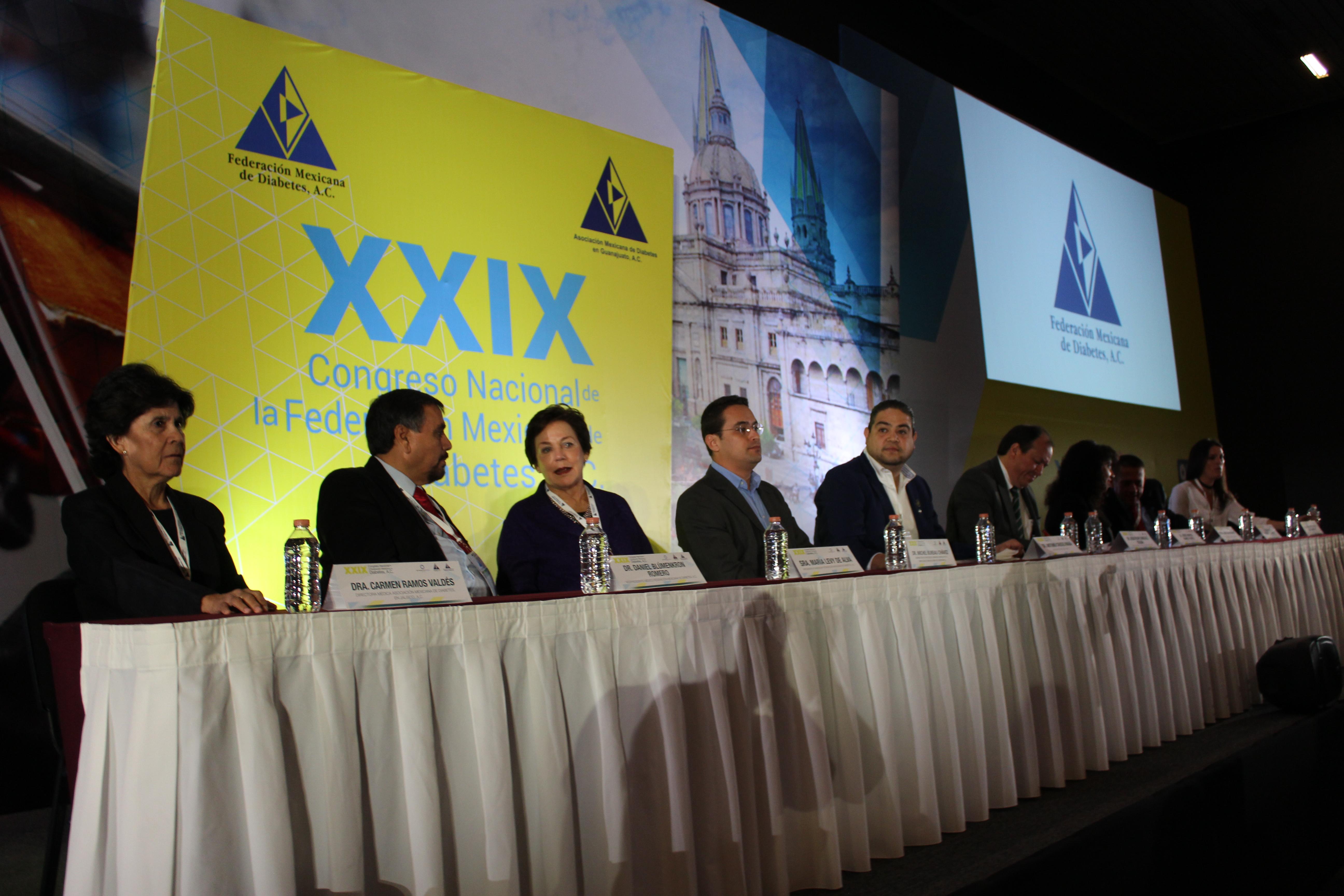 Arranca en Guadalajara el XXIX Congreso Nacional de la Federación Mexicana de Diabetes, A.C.
