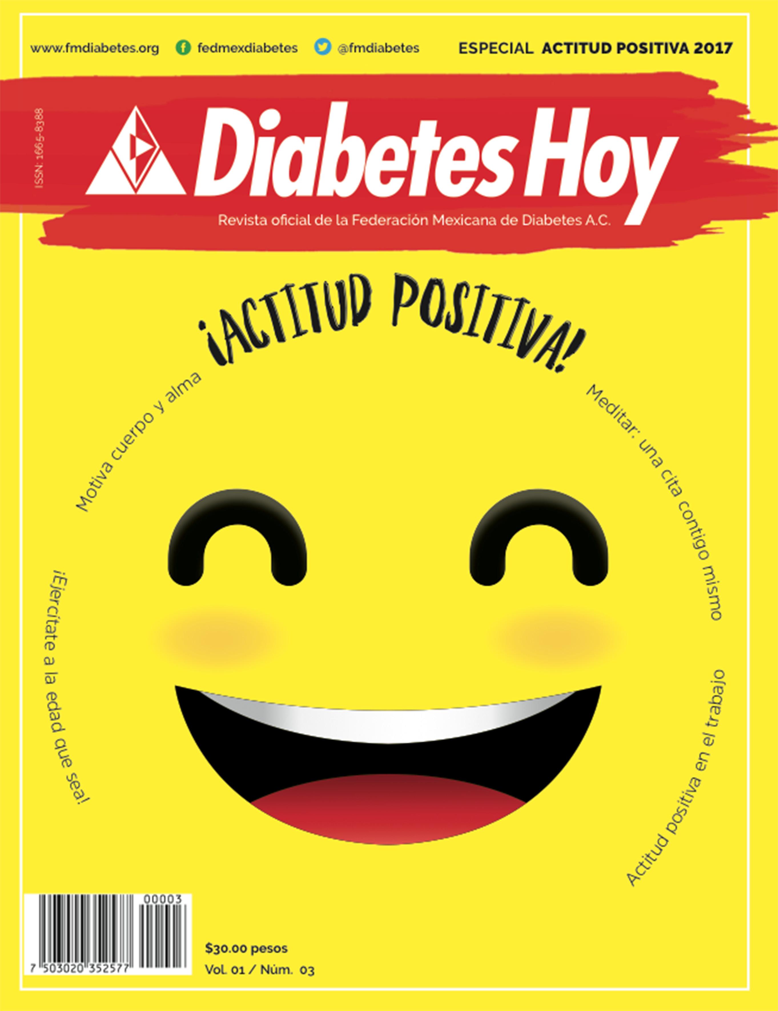 Revista Diabetes Hoy edición especial: Actitud positiva 2017
