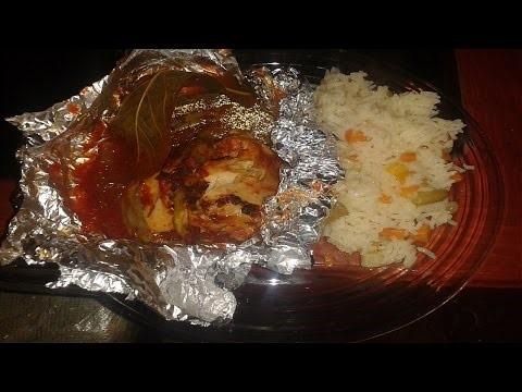 Mixiote de pollo con nopales