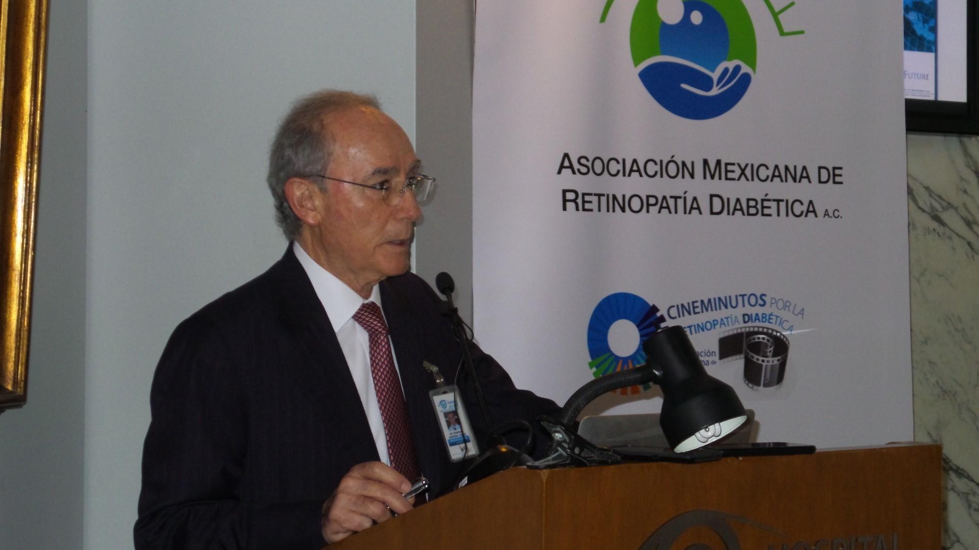 Para prevenir ceguera por diabetes nace la Asociación Mexicana de Retinopatía Diabética A.C.