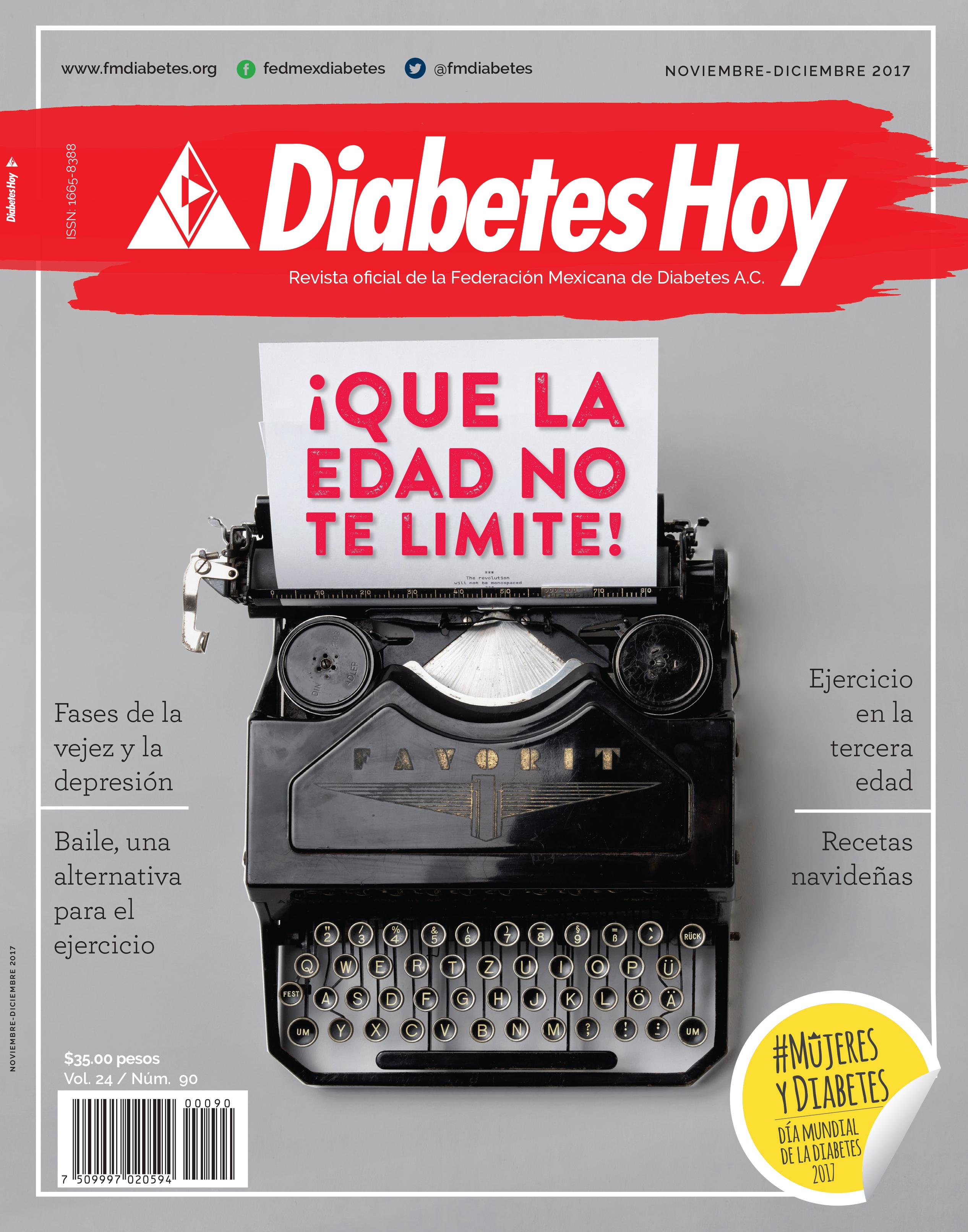 Revista Diabetes Hoy noviembre-diciembre 2017