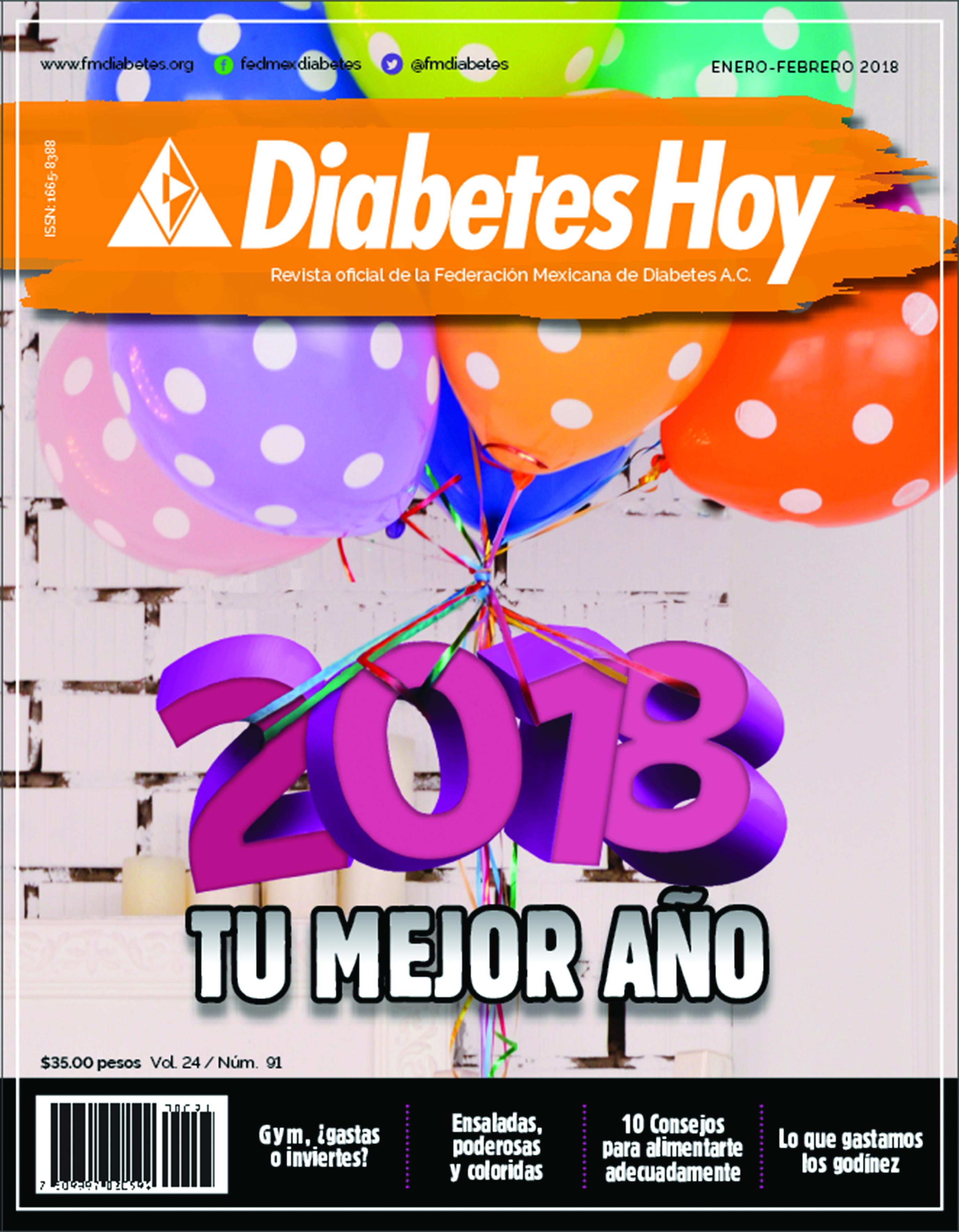 Revista Diabetes Hoy enero-febrero 2018