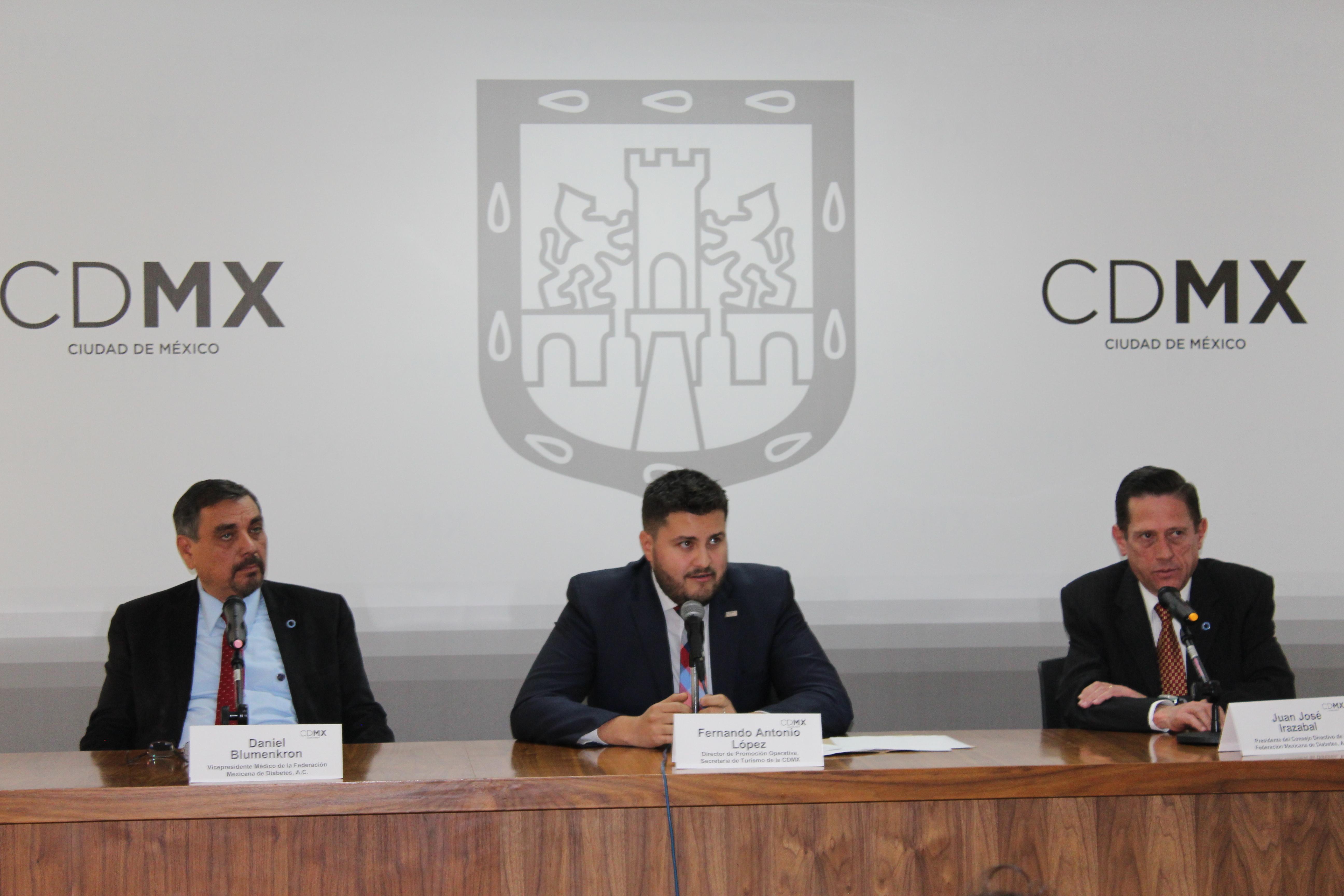La Ciudad de México será sede del XXX Congreso de la Federación Mexicana de Diabetes, A.C.